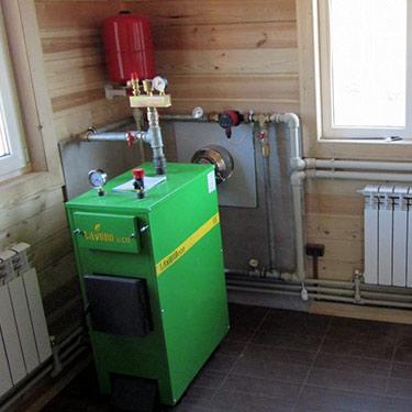 обвязка котла отопления в частном доме Пермь