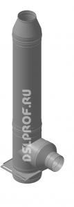 Дымоход Ф130/200 L4м 430/Оц. Ferrum