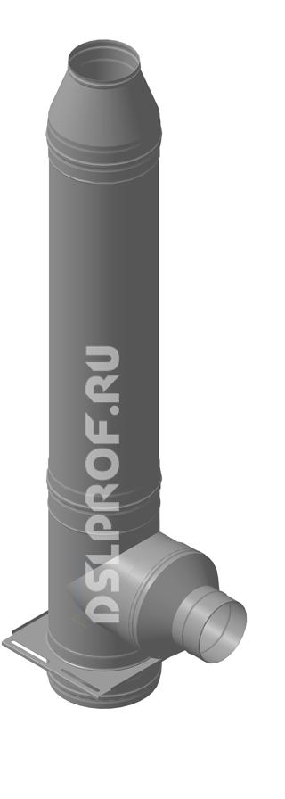 Дымоход Ф160/250 L4м 430/Нерж. Ferrum