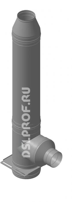 Дымоход Ф180/280 L4м 430/Нерж. Ferrum