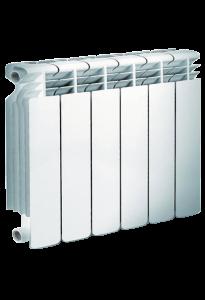 Алюминиевый радиатор 350/8