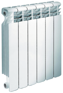 Алюминиевый радиатор 500/6