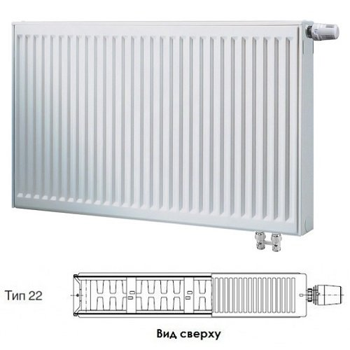 Радиатор Buderus VK-Profil 22/600/2000 ,re 7724125620