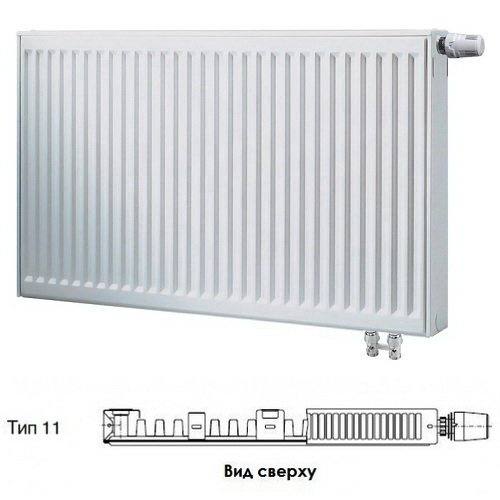Радиатор Buderus VK-Profil 11/500/1600 ,re 7724112516