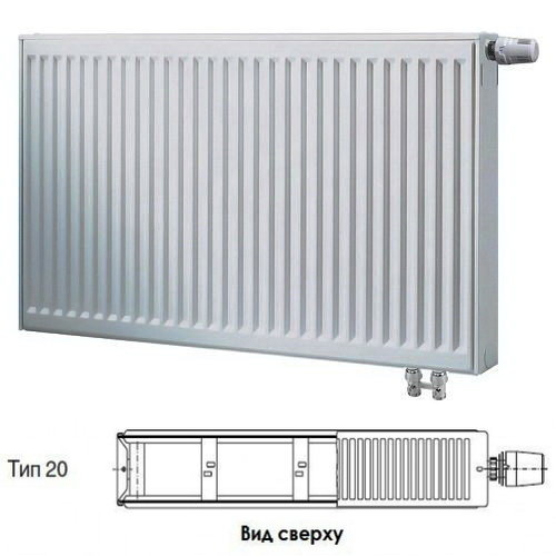 Радиатор Buderus VK-Profil 20/500/1600 ,re 7724113516