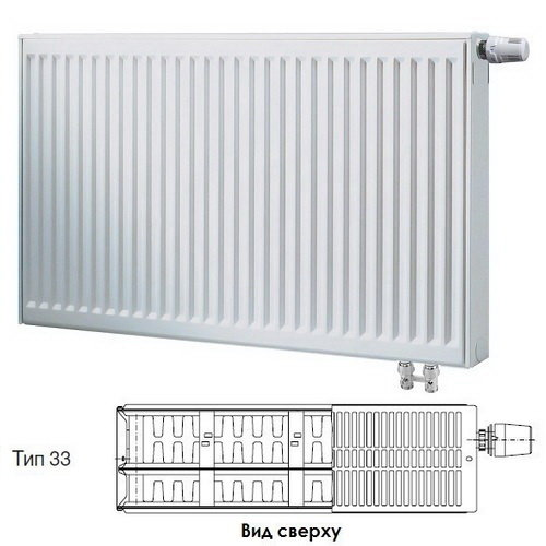Радиатор Buderus VK-Profil 33/400/1600 ,re 7724127416