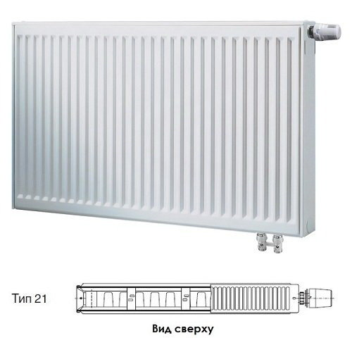 Радиатор Buderus VK-Profil 21/400/2600 7724124426