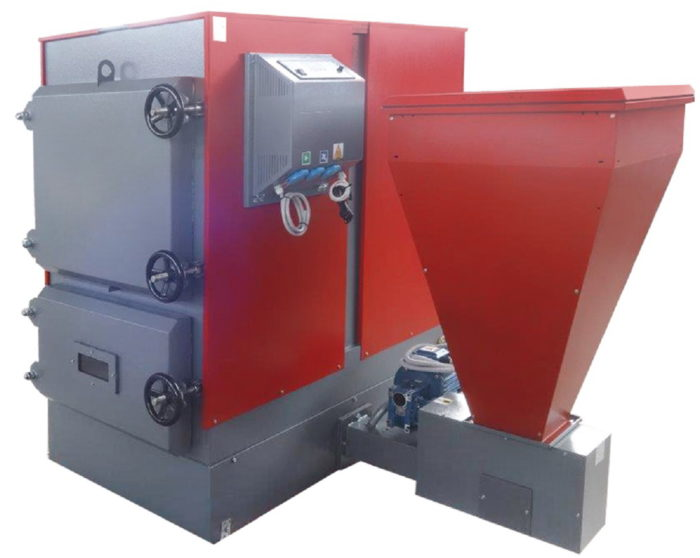 Faci-130 Carbon боковое расположение бункера