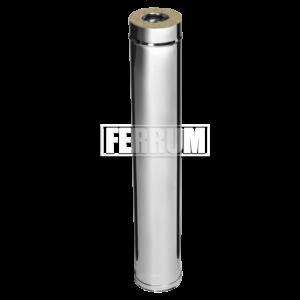 Комплект-удлинитель 0.5м (430/0.5мм + оц.) D130/200 Ferrum