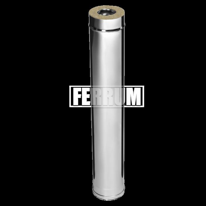 Комплект-удлинитель 1.0м (430/0.5мм + оц.) D130/200 Ferrum