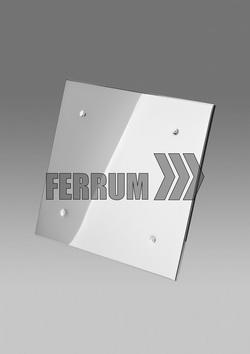 Экран защитный (430/0,5 мм) 500*500 с отверстием Ф D200