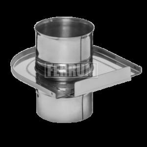 Шибер (430/0,8 мм) D130 Ferrum