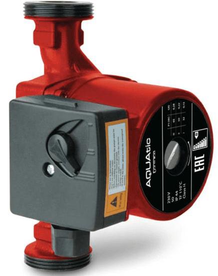 Циркуляционный насос для отопления Aquatic TL 25-80 (с гайками)