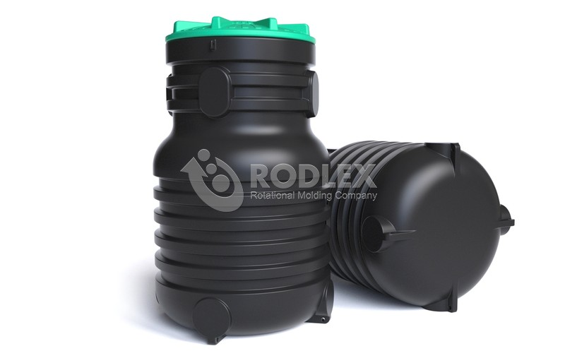 Емкость под канализацию RODLEX-KDU 900 c крышкой
