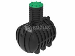 Емкость накопительная для септика, канализации 5000 л c горловиной 1000 мм и крышкой