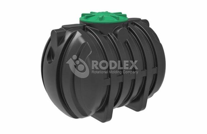 Емкость - септик пластиковый RODLEX-S3000 с крышкой