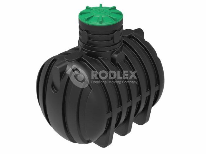 Емкость для канализации RODLEX-S5000 с крышкой.