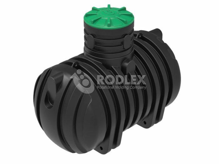 Емкость для канализации RODLEX-S4000 с горловиной 500 мм