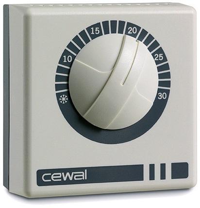 Комнатный механический термостат CEWAL RQ20