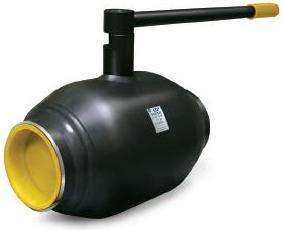 Кран шаровой стальной под приварку Ду32 Ру40 LD полнопроходной КШ.Ц.П.П.032.040.02