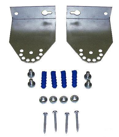 Комплект кронштейнов для монтажа ИК-обогревателей до 2 кВт MKO-1