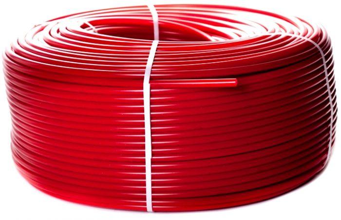 Труба для теплого пола STOUT 20 х 2,0 мм красная PEX-a