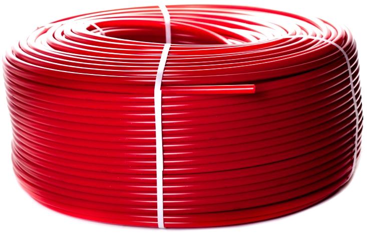 Труба для теплого пола STOUT 16 х 2,0 мм PEX-a красная