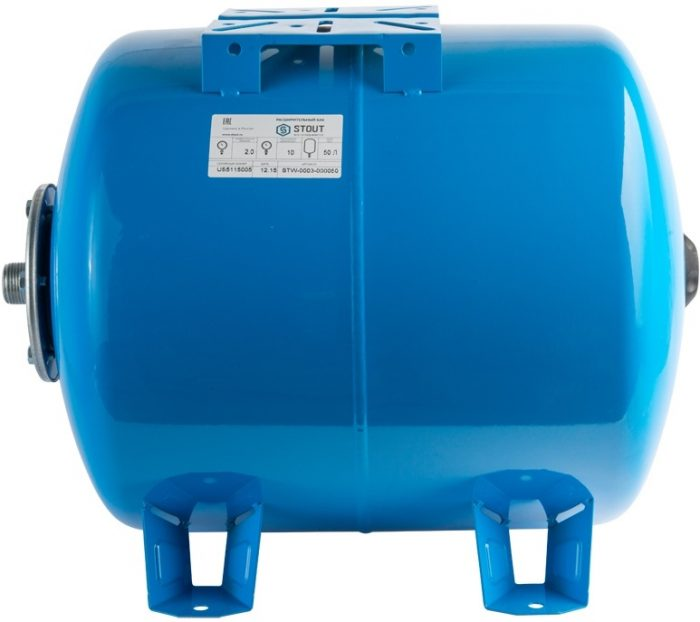 Расширительный бак для водоснабжения STOUT 50 л.