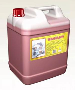 """Теплоноситель """"Теплый Дом -65"""" для систем отопления (этиленгликоль, 10 кг)"""