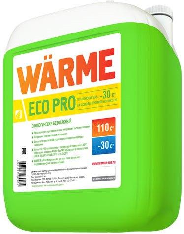 Теплоноситель для отопления WARME Eco Pro -30 (пропиленгликоль, канистра 20 кг)
